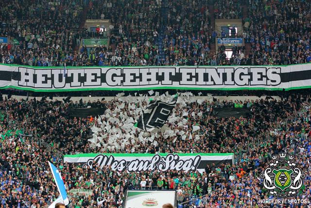 NORDKURVEN FOTOS » 27 04 2014 FC Schalke 04 – Borussia 0:1